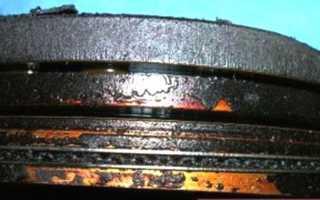 Инструкция по проведению раскоксовки поршневых колец своими руками, видео