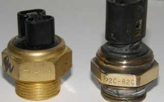 Датчик включения вентилятора: как он устроен, где находится и при какой температуре срабатывает
