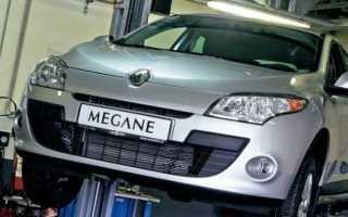 Замена топливного фильтра на renault megane 2 и 3 (дизель и бензин)
