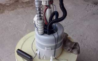 Замена топливного фильтра на автомобиле nissan x-trail t31 и t30