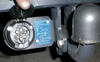 Схема подключения прицепа: распиновка розетки фаркопа своими руками, видео