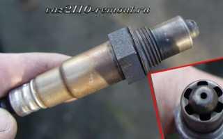 Ремонт и замена лямбда зонда на ваз 2110: признаки неисправности, как проверить датчик кислорода
