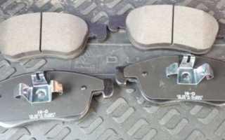 Снятие и замена передних тормозных колодок на renault duster 2.0