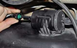 Инструкция по замене топливного фильтра lada granta своими руками