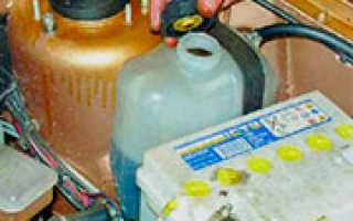Инструкция по выбору охлаждающей жидкости для автомобиля ваз 21099