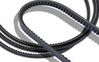 Понятие и технические характеристики клиновых ремней, виды и применение