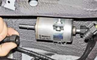 Замена топливного фильтра шевроле нива: пошаговая инструкция с фото