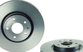 Снятие и замена передних и задних тормозных дисков ford focus 2