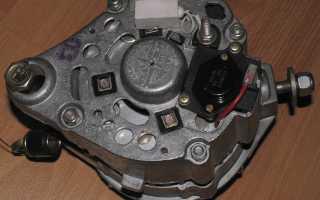 Характеристика генератора на ваз 2101, схема его подключения, разборки и сборки