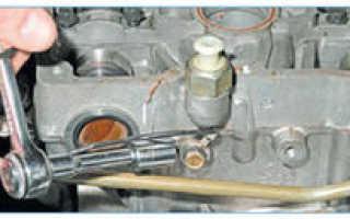 Совет автоэксперта, как снять головку блока цилиндров на lada priora 16 клапанов