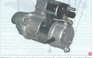 Неисправности и ремонт стартера автомобилей daewoo lanos, nexia и matiz