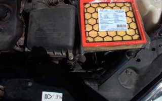 Замена воздушного фильтра лада приора