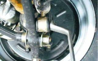 Снятие и замена переднего стабилизатора поперечной устойчивости ваз 2108, 2109, 21099: пошаговая инструкция, фото