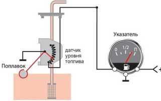 Что делать, если датчик уровня топлива всегда показывает полный бак?